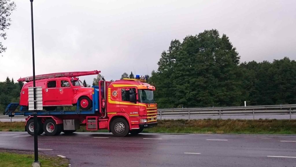På väg till ÅLand - första stoppet