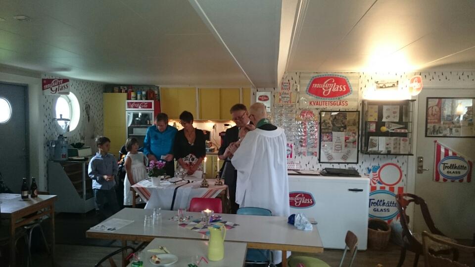 Barndop i Cafet hösten 2014